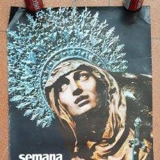 Carteles de Semana Santa: CARTEL POSTER SEMANA SANTA EN VALALDOLID 1966 68 X 47 CM, MUY RARO. Lote 198773720