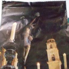 Carteles de Semana Santa: 1976 CARTEL DE SEMANA SANTA DE JEREZ CREO ES EL CRISTO DE LA VIGA. Lote 199498246