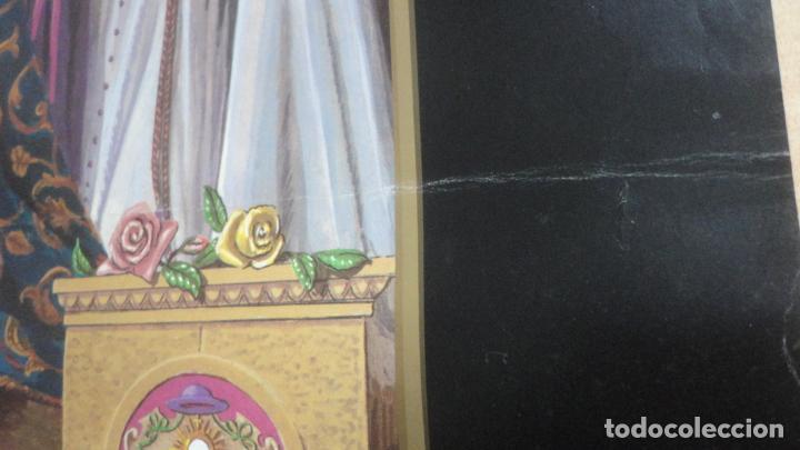 Carteles de Semana Santa: ANTIGUO CARTEL.CORONACION CANONICA.VIRGEN DE LAS ANGUSTIAS.LOS GITANOS.SEVILLA 1988. 85 X 56 - Foto 6 - 200019275