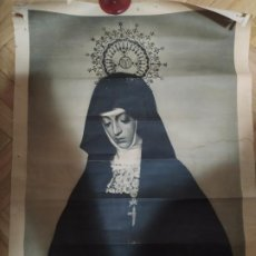 Carteles de Semana Santa: ANTIGUO CARTEL POSTER ORIGINAL SEMANA SANTA ZAMORA AÑO 1950¿?. Lote 200147470
