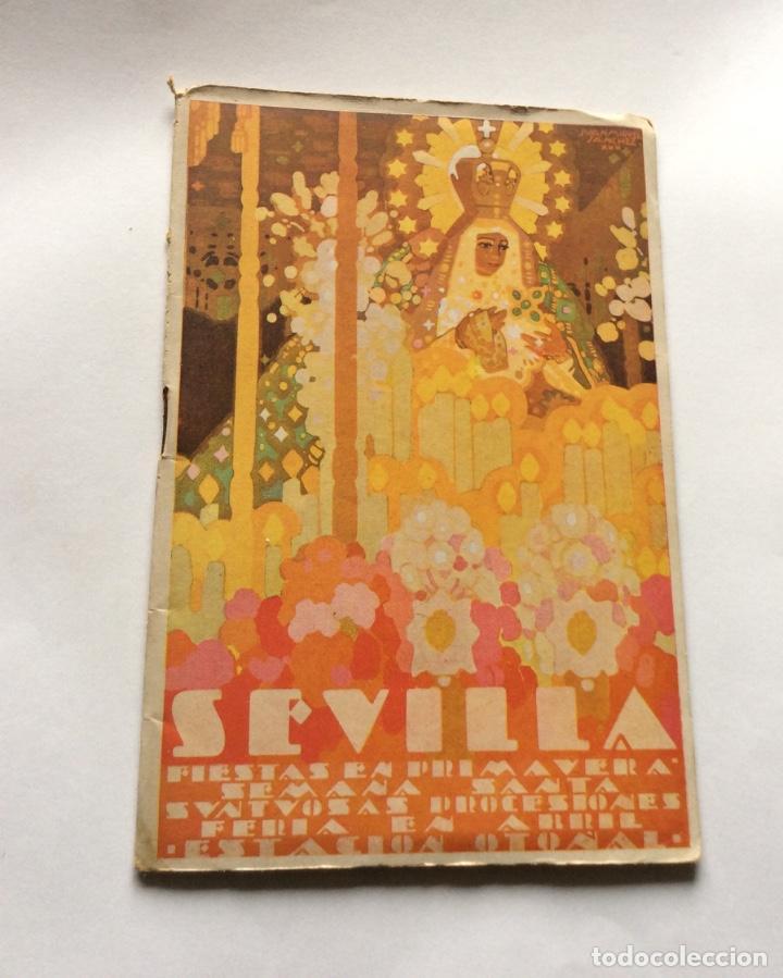 PRIMAVERA 1931. SEMANA SANTA Y FERIA DE ABRIL. PROGRAMA OFICIAL. (Coleccionismo - Carteles Gran Formato - Carteles Semana Santa)