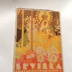 Carteles de Semana Santa: PRIMAVERA 1931. SEMANA SANTA Y FERIA DE ABRIL. PROGRAMA OFICIAL. . Lote 201303171