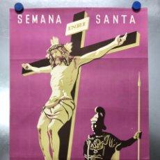 Carteles de Semana Santa: CARTEL - BENETUSER, VALENCIA SEMANA SANTA, AÑO 1957 - LITOGRAFIA - ILUSTRADOR: DAMIAN. Lote 201328853