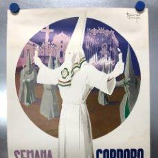 Carteles de Semana Santa: ANTIGUO CARTEL - CORDOBA, SEMANA SANTA, AÑO 1971 - ILUSTRADOR: RICARDO ANAYA. Lote 201476276