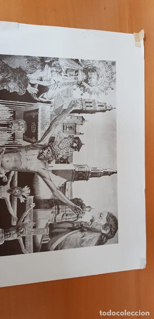 Carteles de Semana Santa: CARTEL ORIGINAL SEMANA SANTA ÉCIJA 1962. GRAN FORMATO - Foto 10 - 202409556
