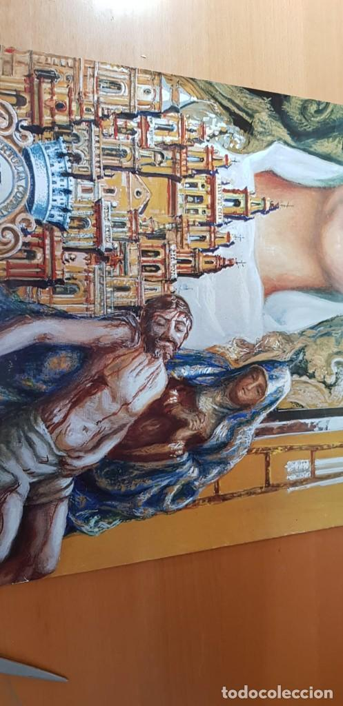 Carteles de Semana Santa: CARTEL SEMANA SANTA ÉCIJA 1994. ORIGINAL. BUEN ESTADO. - Foto 3 - 202412177