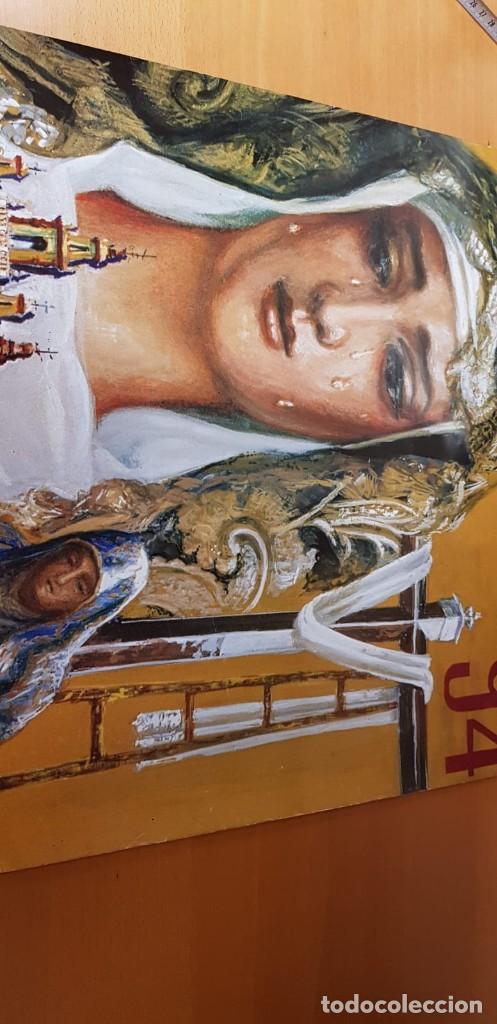 Carteles de Semana Santa: CARTEL SEMANA SANTA ÉCIJA 1994. ORIGINAL. BUEN ESTADO. - Foto 5 - 202412177