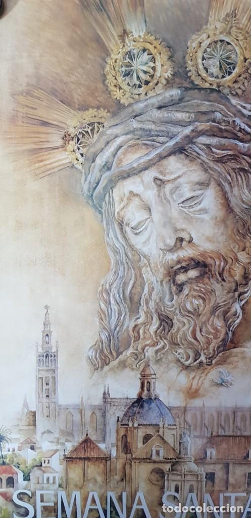 Carteles de Semana Santa: CARTEL SEMANA SANTA SEVILLA 1994. ORIGINAL. - Foto 3 - 202413338
