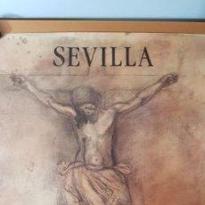 Carteles de Semana Santa: CARTEL SEMANA SANTA SEVILLA 1992. ORIGINAL.. Lote 202413546