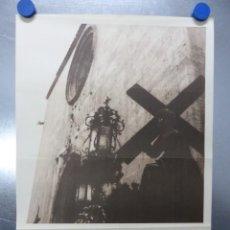 Carteles de Semana Santa: CARTEL SEMANA SANTA - GANDIA, VALENCIA - AÑO 1961. Lote 202472295