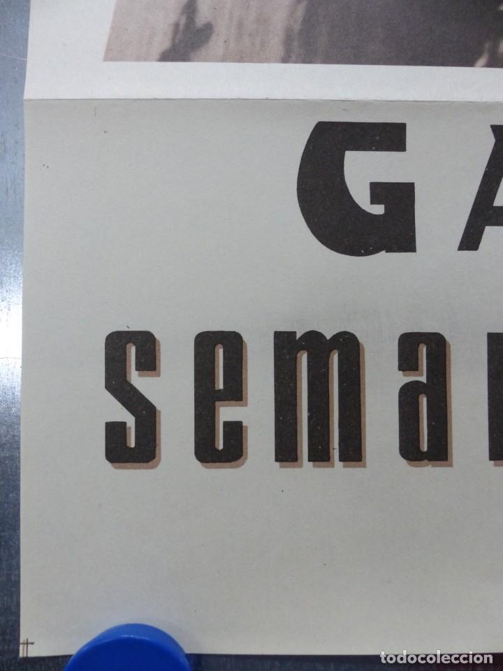Carteles de Semana Santa: CARTEL SEMANA SANTA - GANDIA, VALENCIA - AÑO 1961 - Foto 3 - 202472295