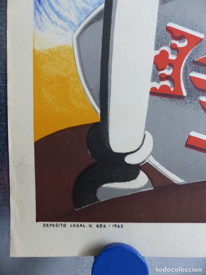 Carteles de Semana Santa: CARTEL VALENCIA, SEMANA SANTA MARINERA - AÑO 1962 - LITOGRAFIA, A. CABRERA - Foto 2 - 204078816