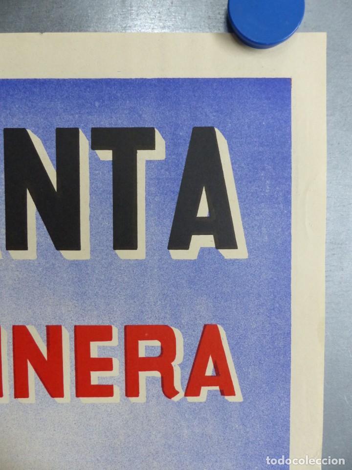 Carteles de Semana Santa: CARTEL VALENCIA, SEMANA SANTA MARINERA - AÑO 1962 - LITOGRAFIA, A. CABRERA - Foto 4 - 204078816