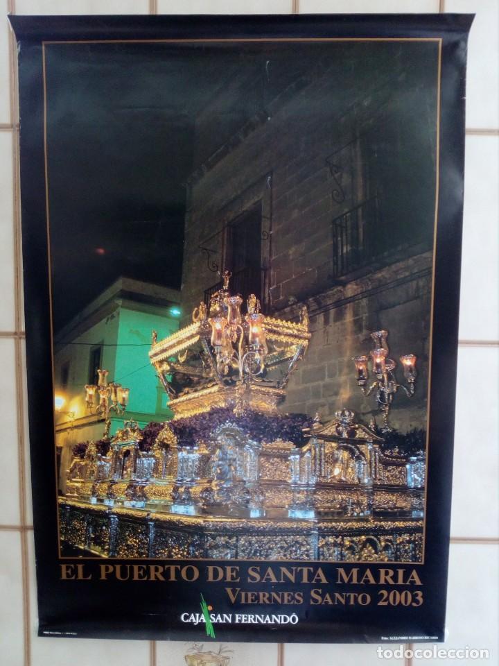 CARTEL SEMANA SANTA - LOTE 27 - 70X50 APROXIMADAMENTE (Coleccionismo - Carteles Gran Formato - Carteles Semana Santa)