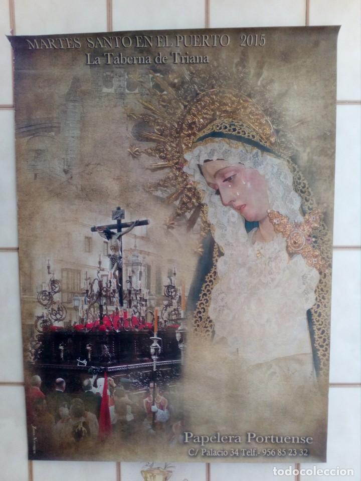 CARTEL SEMANA SANTA - LOTE 28 - 70X50 APROXIMADAMENTE (Coleccionismo - Carteles Gran Formato - Carteles Semana Santa)