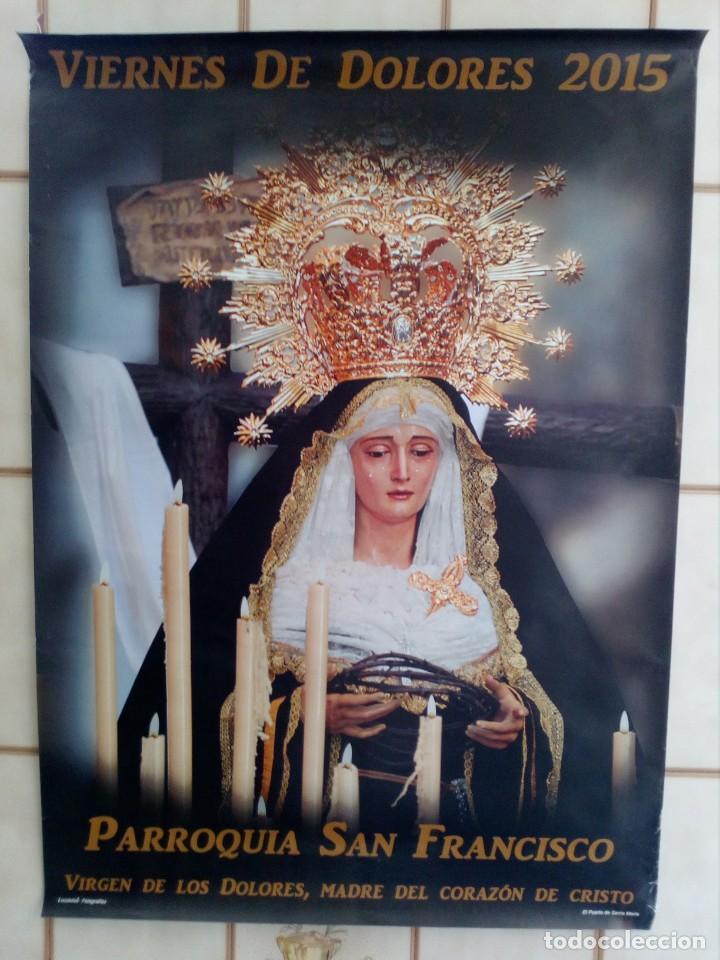 CARTEL SEMANA SANTA - LOTE 29 - 70X50 APROXIMADAMENTE (Coleccionismo - Carteles Gran Formato - Carteles Semana Santa)