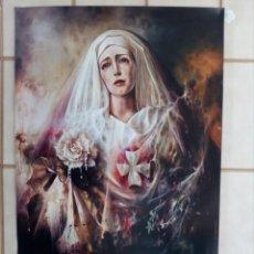 Carteles de Semana Santa: CARTEL SEMANA SANTA - LOTE 32 - 70X50 APROXIMADAMENTE. Lote 210116480