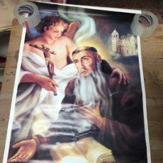 Carteles de Semana Santa: I CENTENARIO BEATIFICACION BEATO DIEGO DE CADIZ - AÑO 1994 - MEDIDA 100X59,5 CM - RELIGIOSO. Lote 210606068