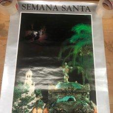 Carteles de Semana Santa: CARTEL OFICIAL SEMANA SANTA DE CADIZ 1996 - MEDIDA 84X56 CM. Lote 210658975