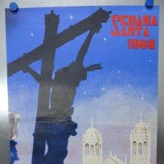 Carteles de Semana Santa: CARTEL CADIZ SEMANA SANTA, AÑO 1966 - ILUSTRADOR: RICARDO ANAYA. Lote 212964311