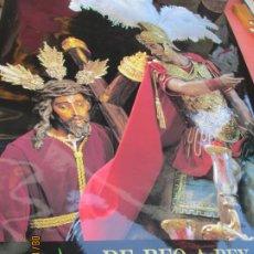 Affiches de Semaine Sainte: CARTEL SEMANA SANTA SEVILLA - DE REO A REY - CRISTO DE LAS 3 CAÍDAS - MIDE 100X61 CM.. Lote 214384367
