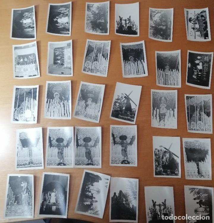 ESPECTACULAR LOTE FOTOGRAFÍAS SEMANA SANTA SEVILLA. 66 FOTOS. ARCHIVO FOTÓGRAFO. AÑOS 70-80 (Coleccionismo - Carteles Gran Formato - Carteles Semana Santa)
