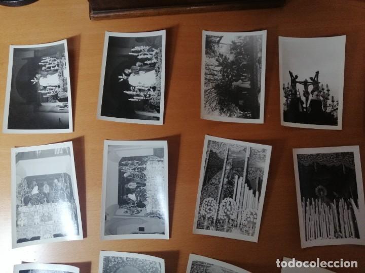 Carteles de Semana Santa: ESPECTACULAR LOTE FOTOGRAFÍAS SEMANA SANTA SEVILLA. 66 FOTOS. ARCHIVO FOTÓGRAFO. AÑOS 70-80 - Foto 2 - 215892112