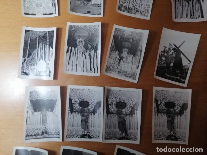 Carteles de Semana Santa: ESPECTACULAR LOTE FOTOGRAFÍAS SEMANA SANTA SEVILLA. 66 FOTOS. ARCHIVO FOTÓGRAFO. AÑOS 70-80 - Foto 3 - 215892112