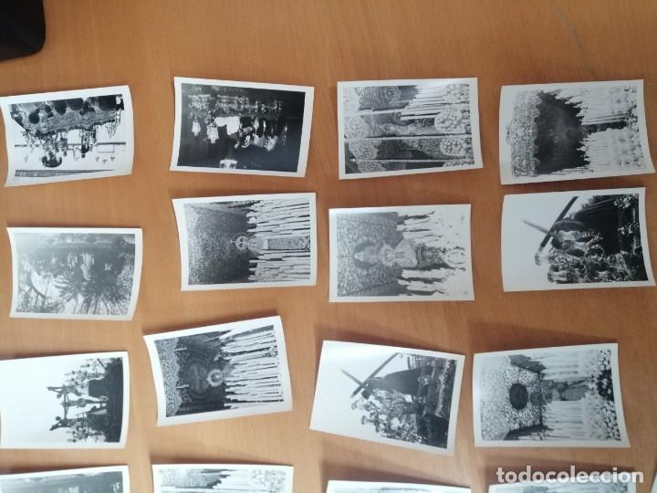 Carteles de Semana Santa: ESPECTACULAR LOTE FOTOGRAFÍAS SEMANA SANTA SEVILLA. 66 FOTOS. ARCHIVO FOTÓGRAFO. AÑOS 70-80 - Foto 4 - 215892112