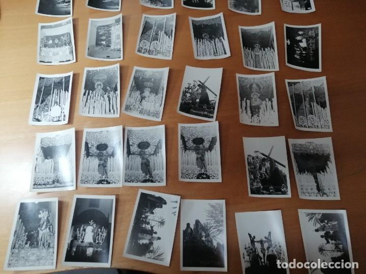 Carteles de Semana Santa: ESPECTACULAR LOTE FOTOGRAFÍAS SEMANA SANTA SEVILLA. 66 FOTOS. ARCHIVO FOTÓGRAFO. AÑOS 70-80 - Foto 5 - 215892112
