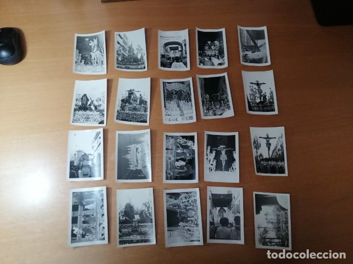 Carteles de Semana Santa: ESPECTACULAR LOTE FOTOGRAFÍAS SEMANA SANTA SEVILLA. 66 FOTOS. ARCHIVO FOTÓGRAFO. AÑOS 70-80 - Foto 6 - 215892112