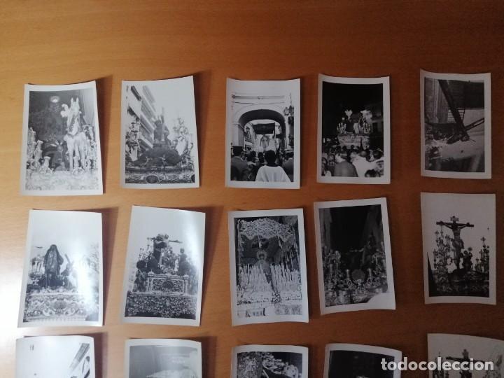 Carteles de Semana Santa: ESPECTACULAR LOTE FOTOGRAFÍAS SEMANA SANTA SEVILLA. 66 FOTOS. ARCHIVO FOTÓGRAFO. AÑOS 70-80 - Foto 7 - 215892112