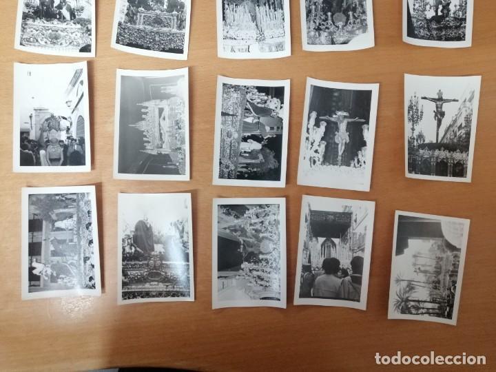 Carteles de Semana Santa: ESPECTACULAR LOTE FOTOGRAFÍAS SEMANA SANTA SEVILLA. 66 FOTOS. ARCHIVO FOTÓGRAFO. AÑOS 70-80 - Foto 8 - 215892112