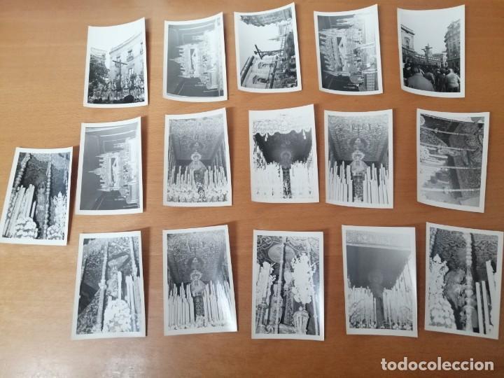 Carteles de Semana Santa: ESPECTACULAR LOTE FOTOGRAFÍAS SEMANA SANTA SEVILLA. 66 FOTOS. ARCHIVO FOTÓGRAFO. AÑOS 70-80 - Foto 11 - 215892112