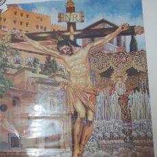 Affiches de Semaine Sainte: CARTEL CRISTO DE LOS FAVORES 75 ANIVERSARIO GRANADA. Lote 216557702