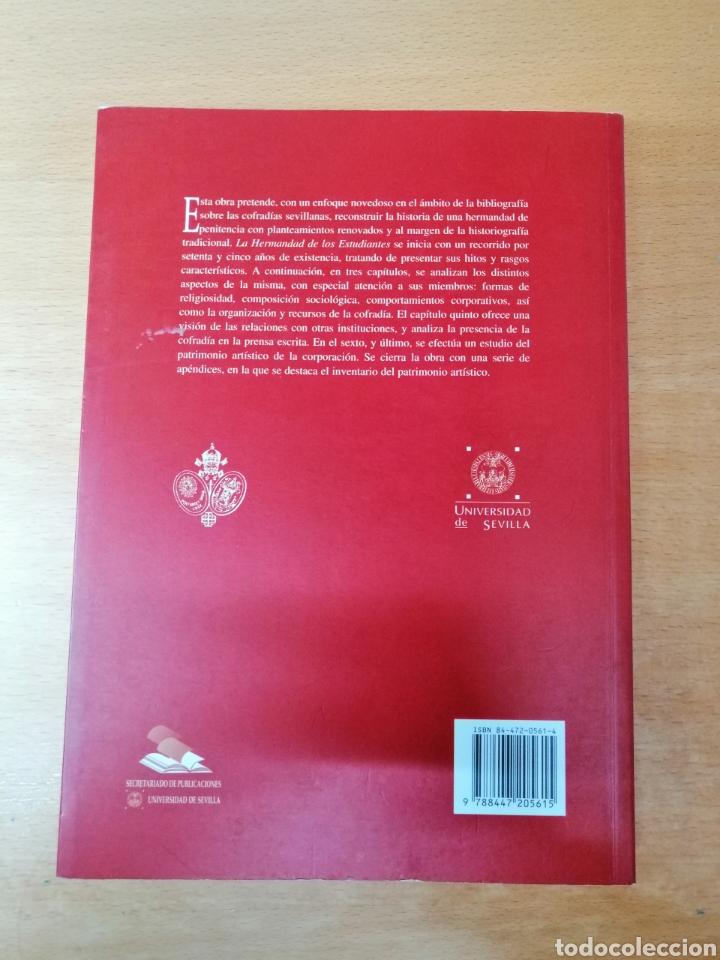 Carteles de Semana Santa: LIBRO HERMANDAD DE LOS ESTUDIANTES SEVILLA. SEMANA SANTA. HISTORIA - Foto 2 - 217586853