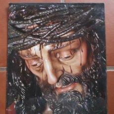 Carteles de Semana Santa: ANTIGUO CARTEL POSTER CRISTO DE VIÑEROS MALAGA SEMANA SANTA – 50 X 35 CM - FOTO RICARDO BALLESTEROS. Lote 218225590