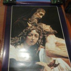 Carteles de Semana Santa: CARTEL MOTIVOS COFRADES.. Lote 218287001