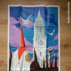 Affiches de Semaine Sainte: MÁLAGA, SEMANA SANTA 1967. CARTEL DE GRAN FORMATO. DE SÁNCHEZ GALLARDO. Lote 218665638