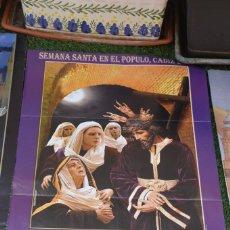 Carteles de Semana Santa: CARTEL SEMANA SANTA CADIZ. Lote 218994103