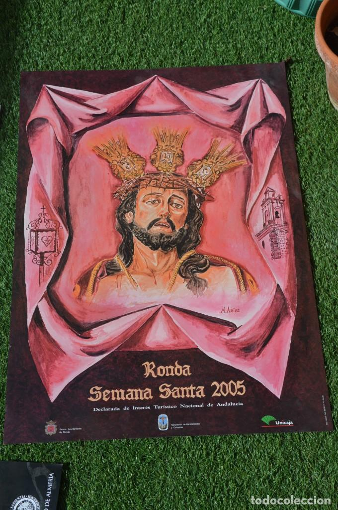 CARTEL SEMANA SANTA RONDA (Coleccionismo - Carteles Gran Formato - Carteles Semana Santa)