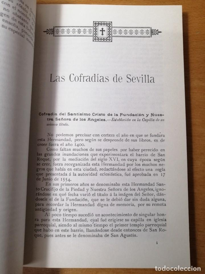 Carteles de Semana Santa: LIBRO HISTORIA SEMANA SANTA SEVILLA. Relación e Historia de las Cofradías sevillanas. 1908. - Foto 4 - 219287523
