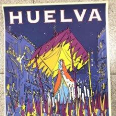 Carteles de Semana Santa: CARTEL SEMANA SANTA HUELVA. AÑO 1999. PATRONATO DE TURISMO. Lote 219493646