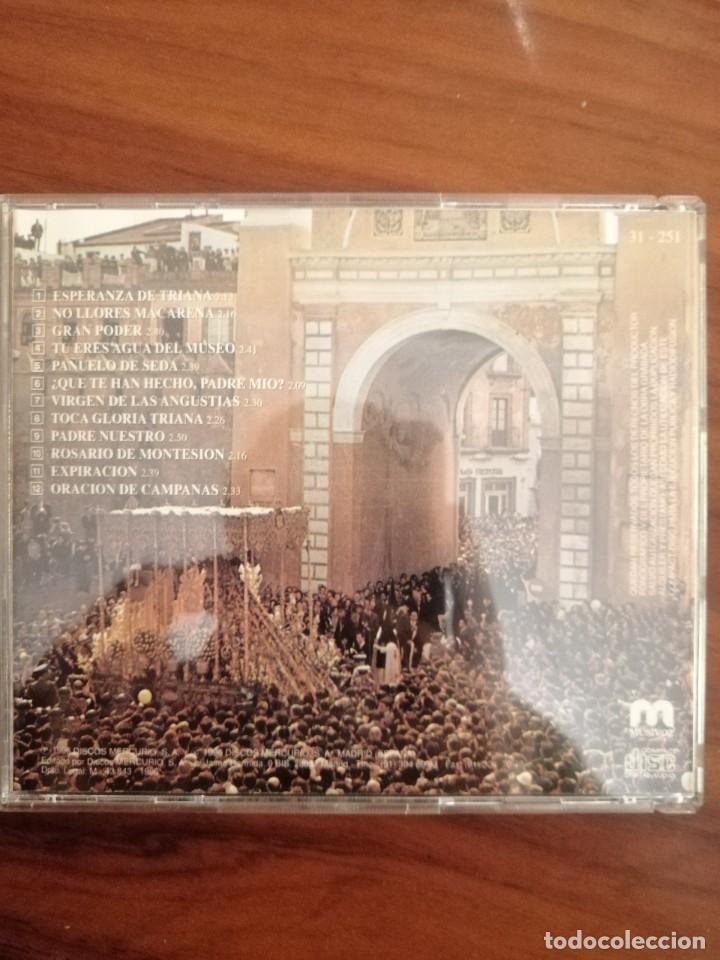 Carteles de Semana Santa: LOTE 2 CDs SEMANA SANTA SEVILLA. MARCHAS Y SAETAS. - Foto 4 - 220370017