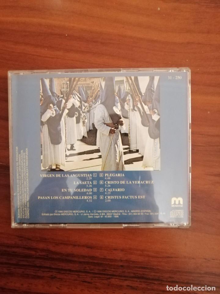 Carteles de Semana Santa: LOTE 2 CDs SEMANA SANTA SEVILLA. MARCHAS Y SAETAS. - Foto 6 - 220370017