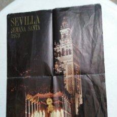 Carteles de Semana Santa: CARTEL DE SEMANA SANTA 1973 ( SEVILLA ). Lote 221516886
