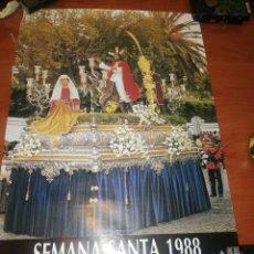 Carteles de Semana Santa: CARTEL SEMANA SANTA SAN FERNANDO, ...AÑO 1.988.... Lote 221623747