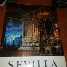 Carteles de Semana Santa: CARTEL DE LA SEMANA SANTA DE SEVILLA, AÑO 1.975... Lote 221623996
