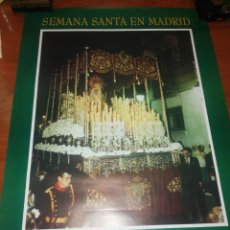 Carteles de Semana Santa: CARTEL DE LA SEMANA SANTA MADRID... 1.994... Lote 221625472