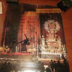 Carteles de Semana Santa: CARTEL DE LA SEMANA SANTA DE SEVILLA, AÑO 1.974... Lote 221625618